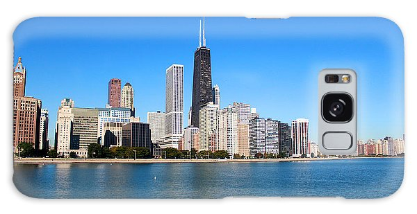 Magnificent Chicago Galaxy Case by Milena Ilieva