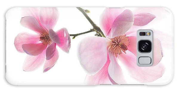 Magnolia Is The Harbinger Of Spring. Galaxy Case