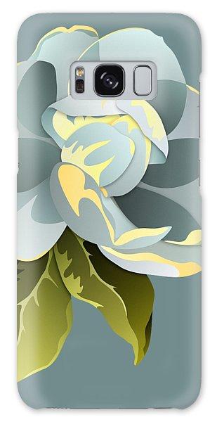 Magnolia Blossom Graphic Galaxy Case