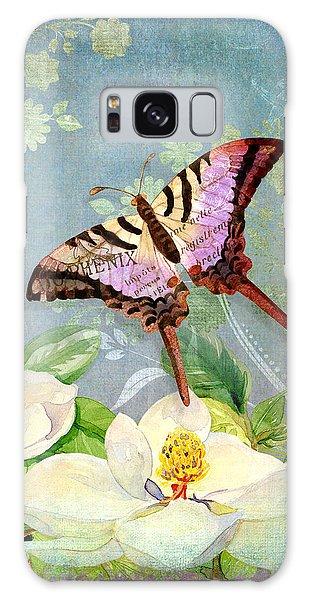 Magnolia Dreams  Galaxy Case by Audrey Jeanne Roberts