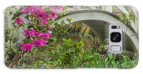 Magnolia Gardens Galaxy Case