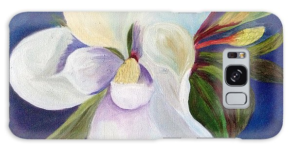 Magnolia Painting Galaxy Case