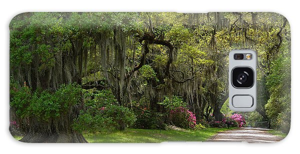 Magnolia Plantation And Gardens Galaxy Case by Kathy Baccari