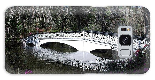 Magnolia Plantation Bridge Galaxy Case by Gordon Mooneyhan
