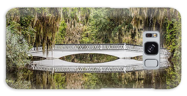 Magnolia Plantation Gardens Bridge Galaxy Case