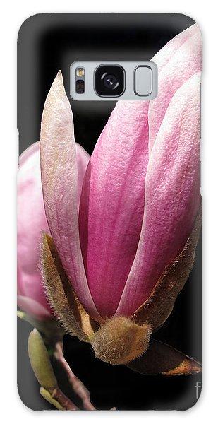 Magnolia Tulip Tree Blossom Galaxy Case