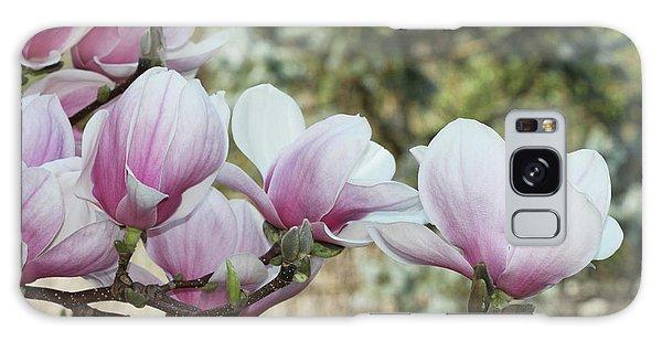Magnolias #3 Galaxy Case