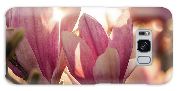 Magnolias At Sunset Galaxy Case