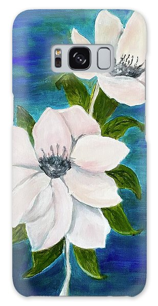 Magnolias Galaxy Case