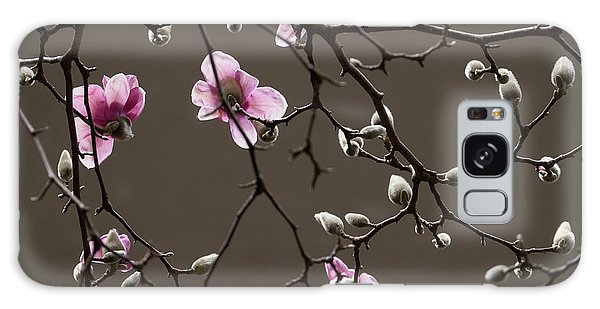 Magnolias In Bloom Galaxy Case