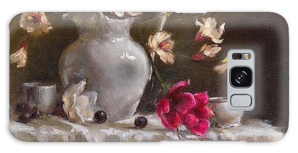 Magnolias Galaxy Case