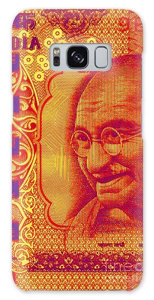 Mahatma Gandhi 500 Rupees Banknote Galaxy Case