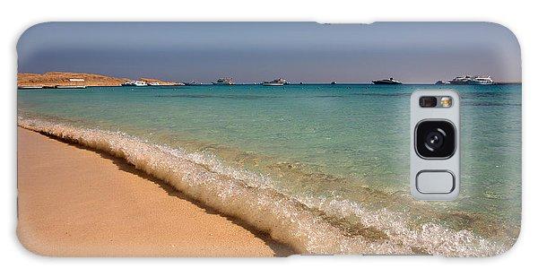 Mahmya Island Beach Waves Galaxy Case