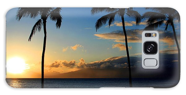 Mai Ka Aina Mai Ke Kai Kaanapali Maui Hawaii Galaxy Case by Sharon Mau
