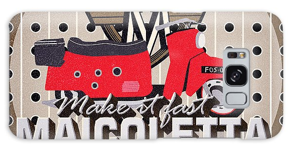 1950s Galaxy Case - Maicoletta Scooter Advertising by Jorgo Photography - Wall Art Gallery