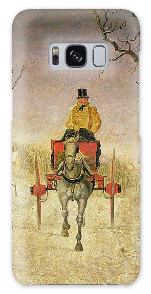 Cart Galaxy Case - Mail Cart Christmas by R R Ripley