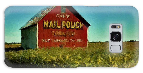 Mail Pouch Barn P D P Galaxy Case by David Dehner