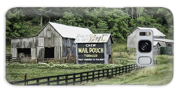 Mail Pouch Tobacco Barn Galaxy Case