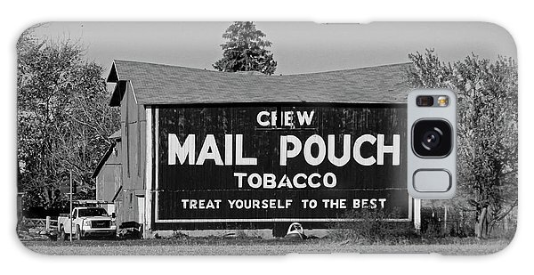 Mail Pouch Tobacco In Black And White Galaxy Case by Michiale Schneider