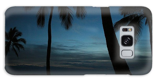 Ma'ili Beach After Sunset Galaxy Case