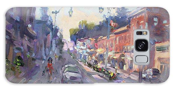 Georgetown Galaxy S8 Case - Main St Georgetown Downtown  by Ylli Haruni