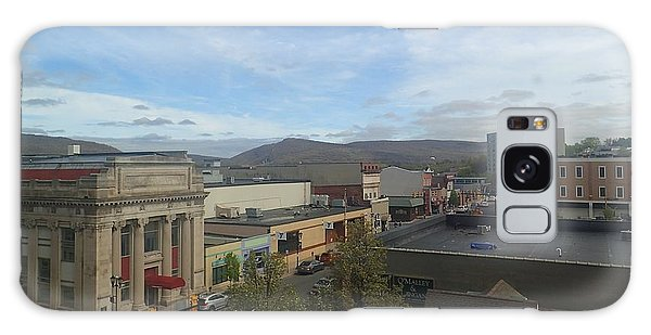 Main St To The Mountains   Galaxy Case