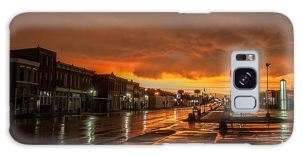 Main Street Galaxy Case by Joe Scott