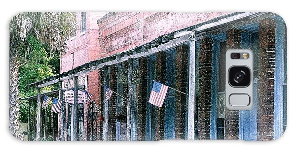 Main Street Micanopy Florida Galaxy Case