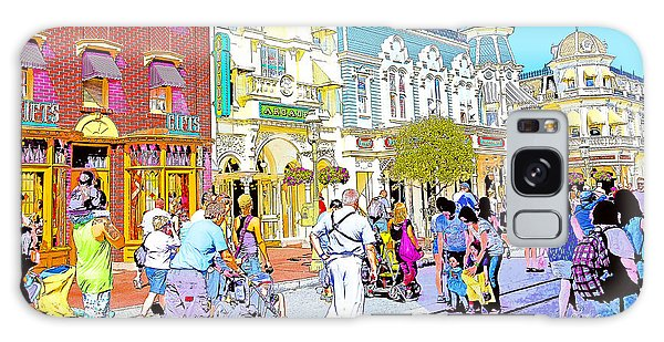Galaxy Case - Main Street Usa Walt Disney World Poster Print by A Gurmankin