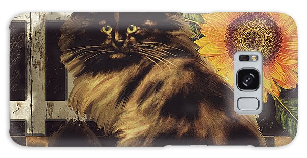 Calico Cat Galaxy Case - Maine Coon Farms by Mindy Sommers
