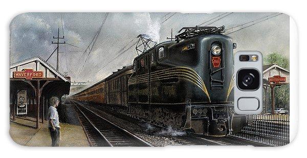 Train Galaxy S8 Case - Mainline Memories by David Mittner