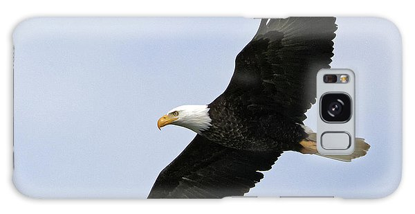Majestic Bald Eagle Galaxy Case