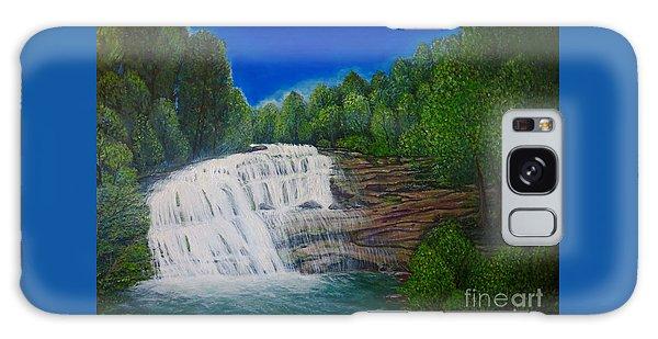 Majestic Bald River Falls Of Appalachia II Galaxy Case