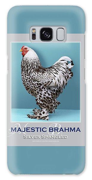Majestic Brahma Silver Spangled Galaxy Case