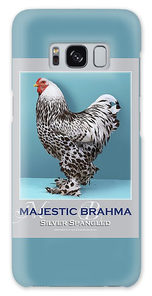 Majestic Brahma Silver Spangled Galaxy Case