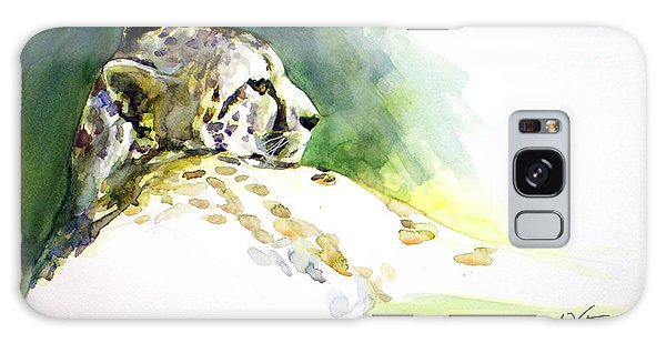 Majestic Cheetah Galaxy Case