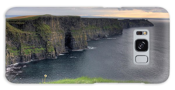 Majestic Cliffs Of Moher Co. Clare Ireland Galaxy Case