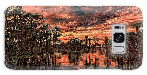 Majestic Cypress Paradise Sunset Galaxy Case