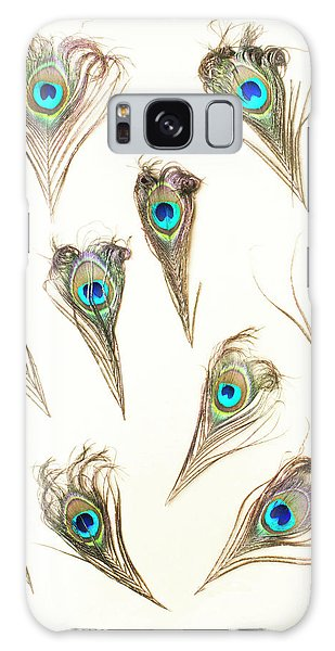 Pattern Galaxy Case - Majestic Feathers by Jorgo Photography - Wall Art Gallery