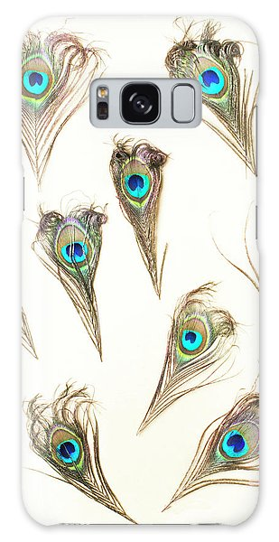 Peacocks Galaxy Case - Majestic Feathers by Jorgo Photography - Wall Art Gallery