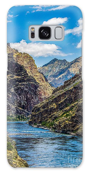 Majestic Hells Canyon Idaho Landscape By Kaylyn Franks Galaxy Case