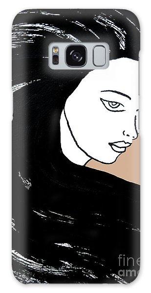 Majestic Lady J0715b Galaxy Case