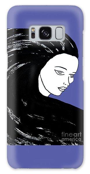 Majestic Lady J0715f J0715f Marina Blue Pastel Painting 17-4041 4f84c4 585fa8 Galaxy Case