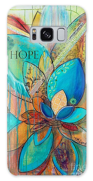 Spirit Lotus With Hope Galaxy Case
