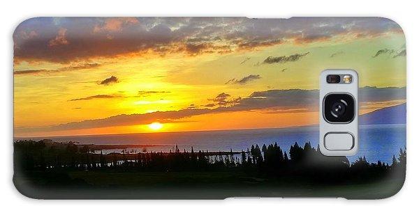 Majestic Maui Sunset Galaxy Case