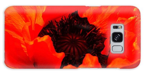 Majestic Poppy Galaxy Case by Stephen Melia