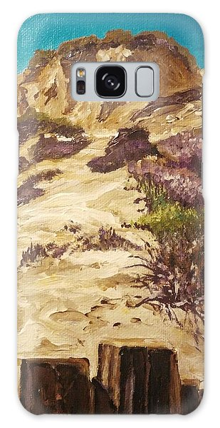 Galaxy Case featuring the painting Majestic Rocks by Ray Khalife