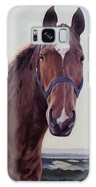 Majestic Roger- Chestnut Horse Galaxy Case