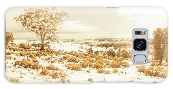 Cold Day Galaxy Case - Majestic Scenes From Snowy Tasmania by Jorgo Photography - Wall Art Gallery