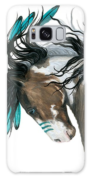 Majestic Turquoise Horse Galaxy Case